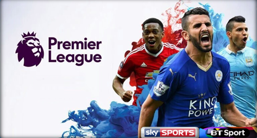 In England, the Premier League will again be on Sky and BT.