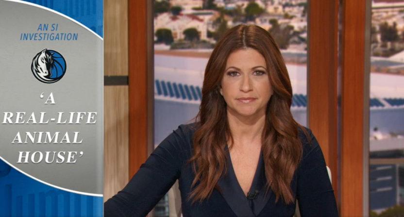 Rachel Nichols on SI's Mavericks report.