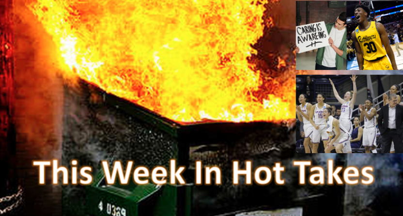 This Week In Hot Takes for March 16-22.