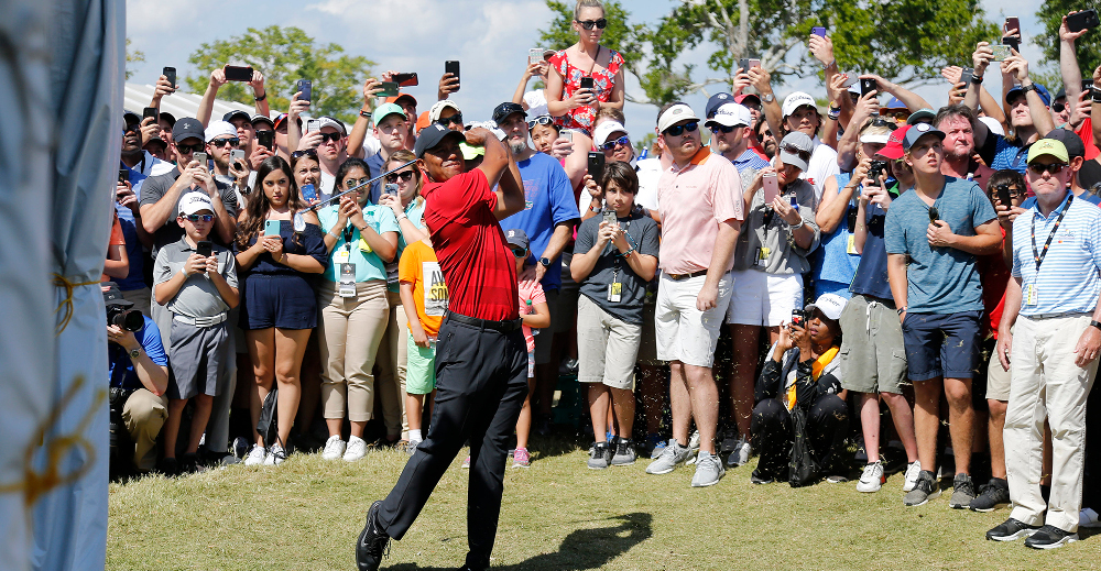 tiger woods u0026 39  run boosted ratings 136 percent year over year