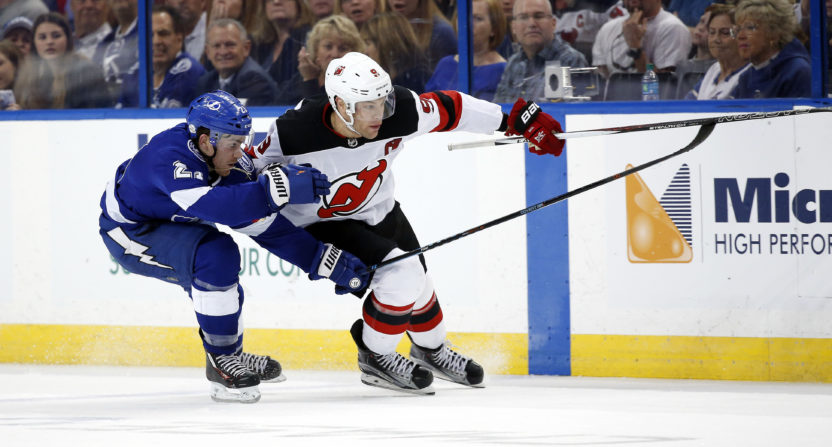 new jersey devils-tampa bay lightning-golf channel