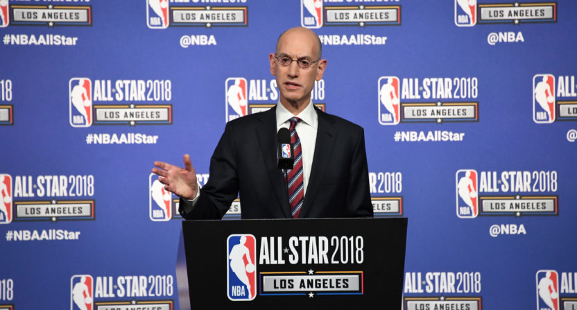 adam silver-esports-nba 2k league