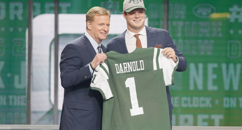 sam darnold-nfl draft-baker mayfield-mock draft