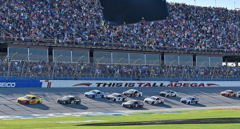 NASCAR's April 2018 Talladega race.