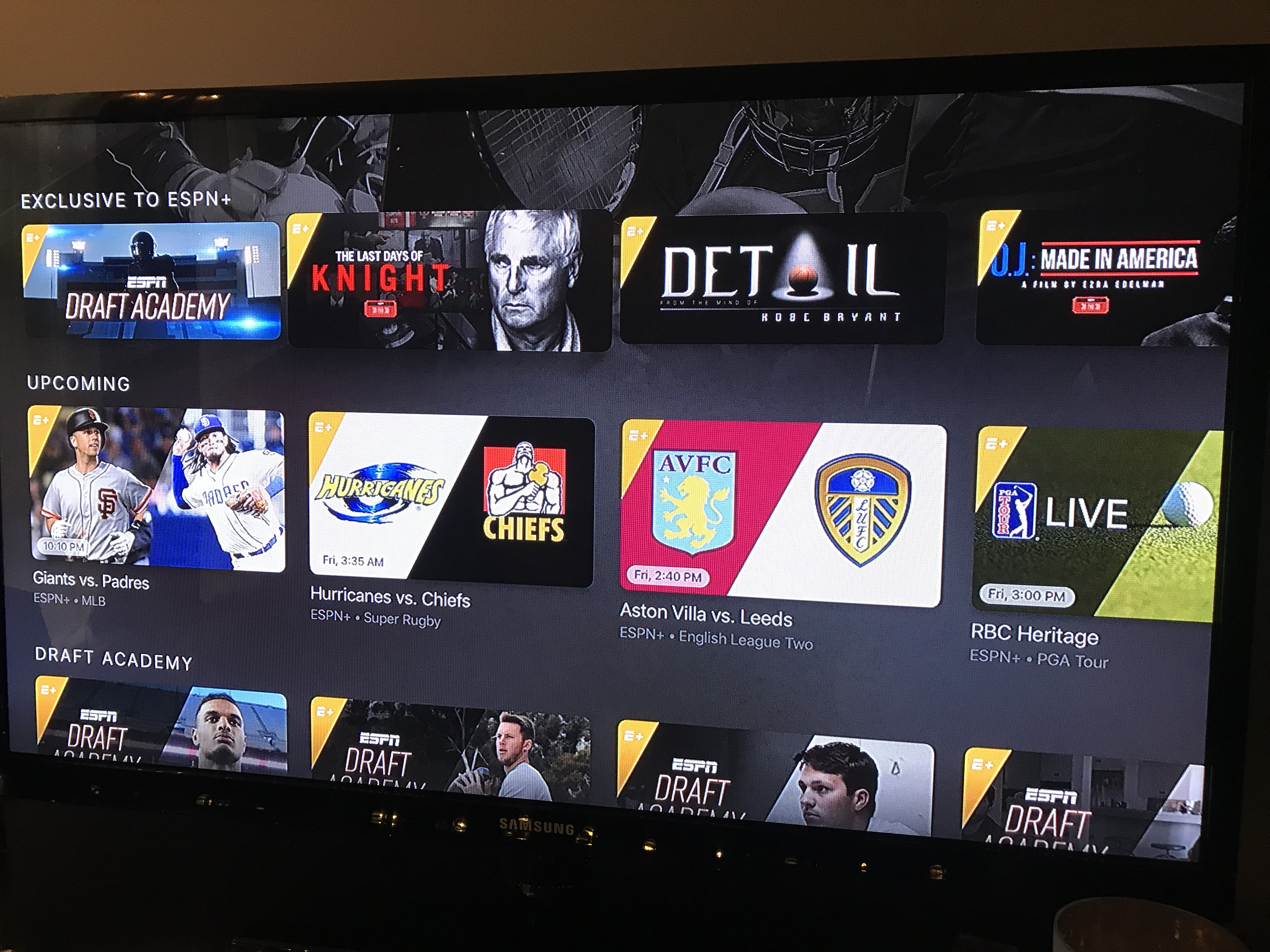 ESPN+ has launched: Early impressions of the new streaming