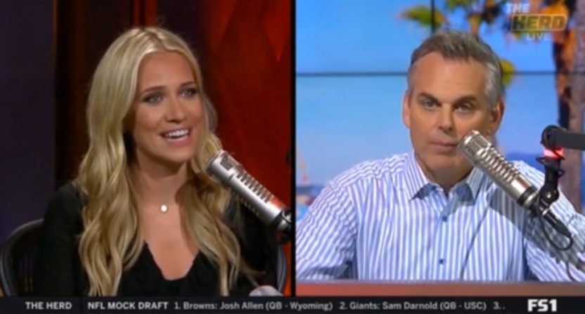 Kristine Leahy is leaving The Herd for an upcoming FS1 afternoon show