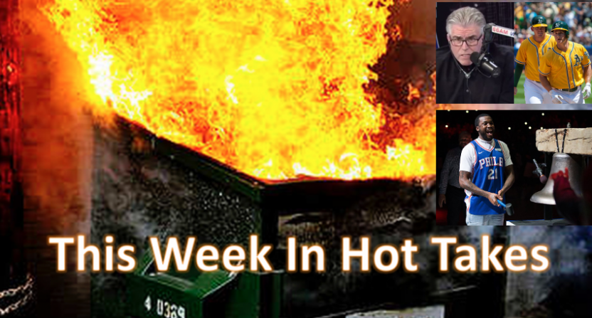 This Week In Hot Takes for April 20-26.