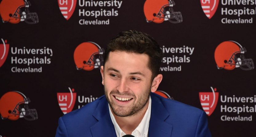 baker mayfield-cleveland browns-hard knocks