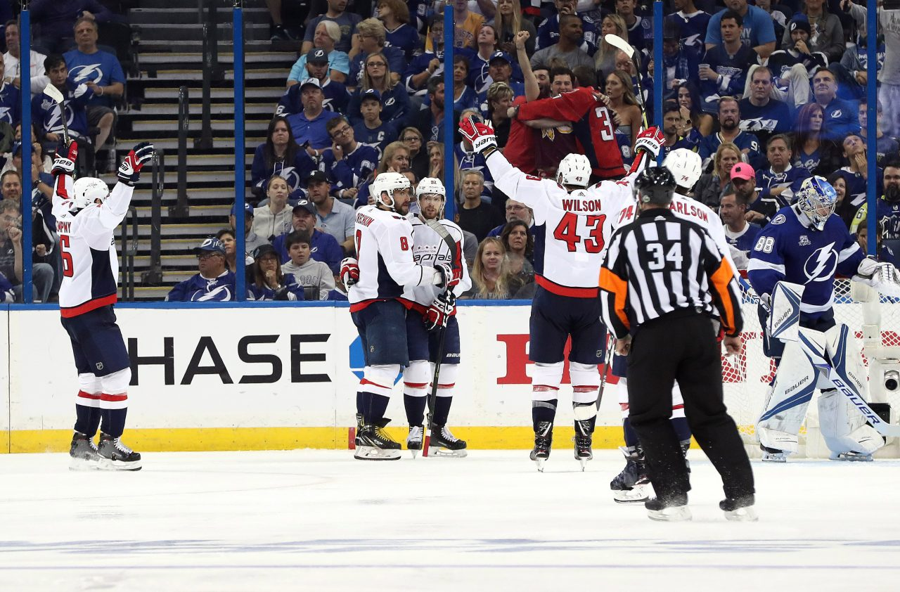 outlet store 9c788 6c8b6 NHL: Stanley Cup Playoffs-Washington Capitals at Tampa Bay ...