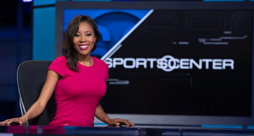 Adrienne Lawrence at ESPN.
