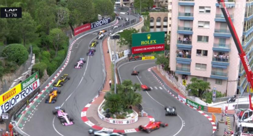 ESPN Monaco Grand Prix coverage.
