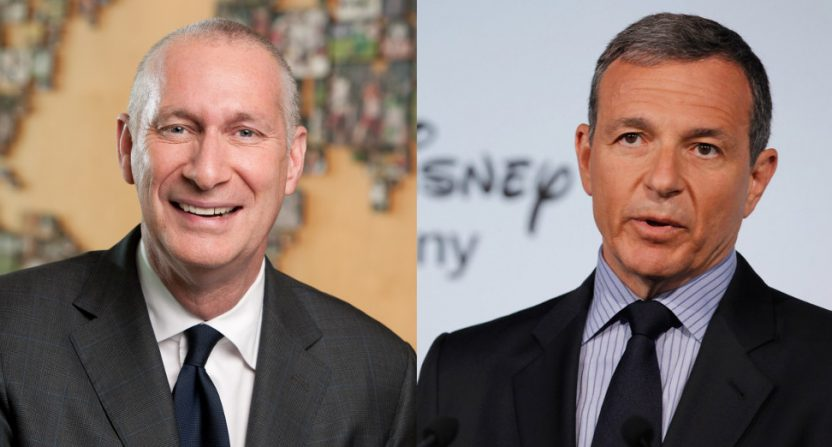 John Skipper and Bob Iger.