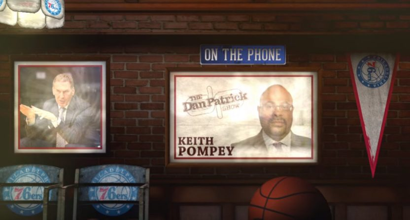 Keith Pompey on The Dan Patrick Show.