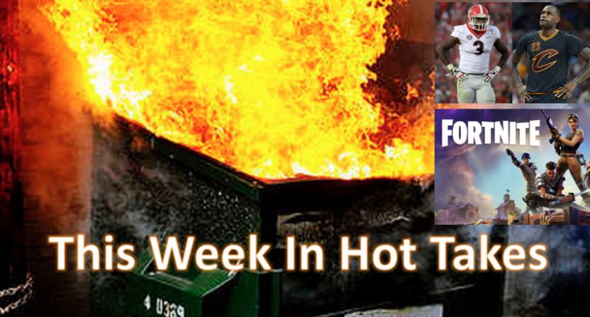 This Week In Hot Takes for May 4-10.