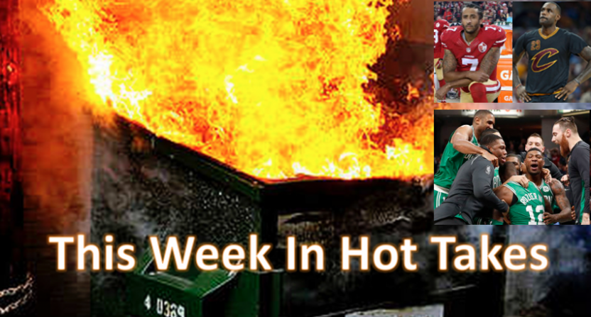 This Week In Hot Takes for May 18-24.