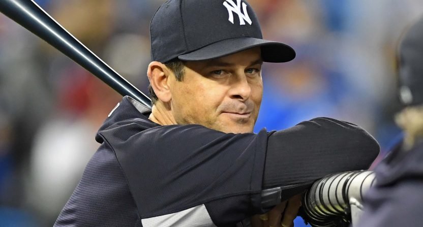 new york yankees-aaron boone-sunday night baseball-espn