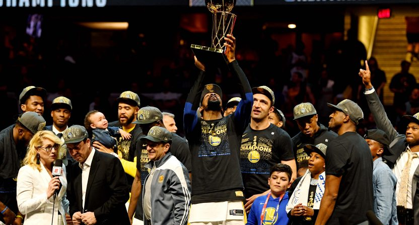 8ee85eadcbe Warriors-Cavs Finals Era ends with a whimper in the ratings