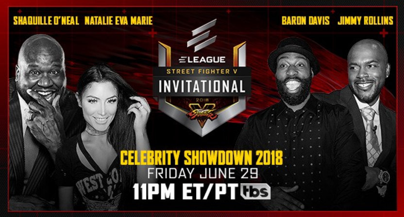 Shaq is back for ELEAGUE's charity Street Fighter V tournament