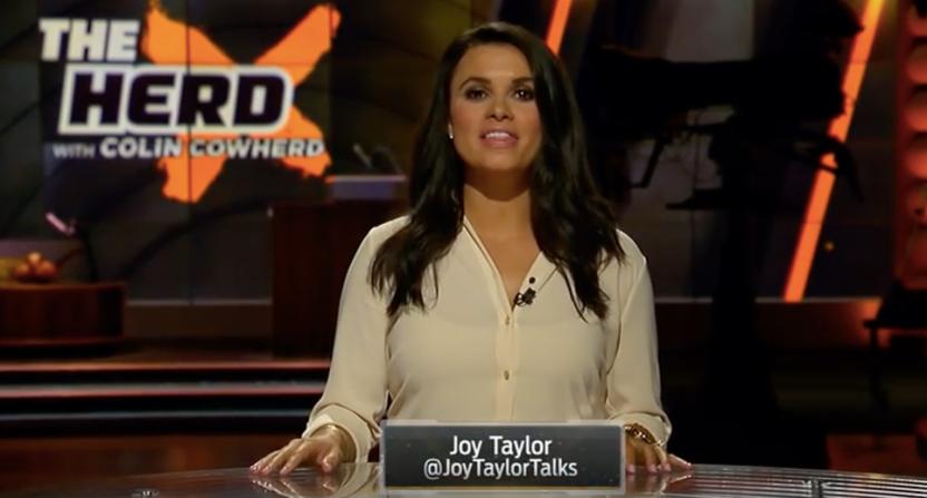 Joy Taylor on The Herd.
