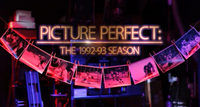 The NHL Network Originals: Picture Perfect documentary.
