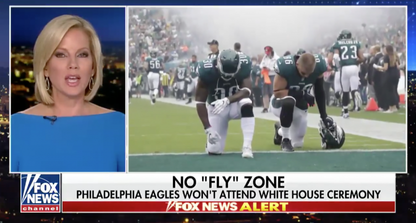 philadelphia eagles-fox news-donald trump