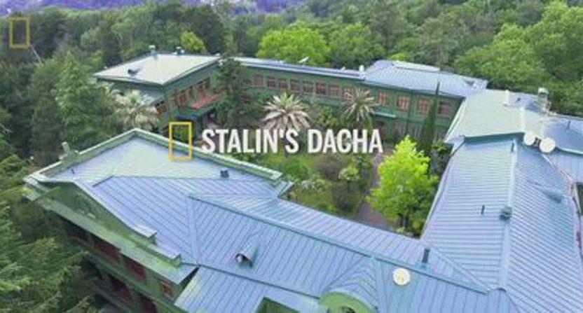 """The """"Stalin's Dacha"""" segment that ran on Fox."""