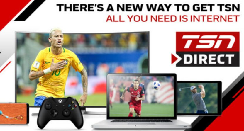 TSN launches TSN Direct, meaning both Canadian sports