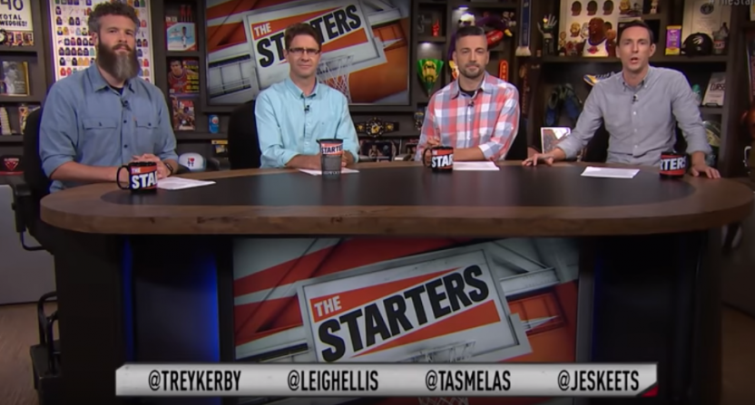The Starters' show on June 22, 2018.