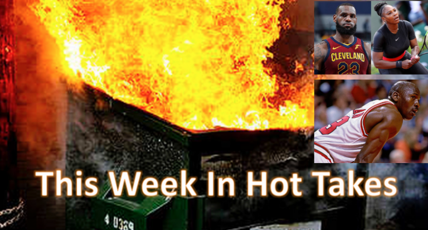This Week In Hot Takes for June 1-7 was led by Skip Bayless.