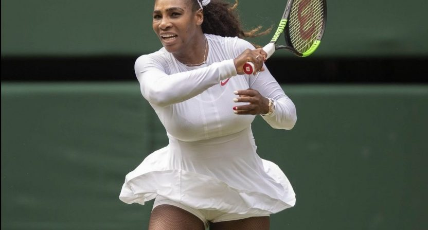 262e1025bd3 Serena Williams has been at the center of some real weird moments at  Wimbledon this year