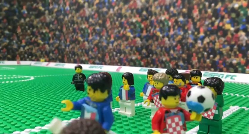 ESPN's Lego highlights of the World Cup final.