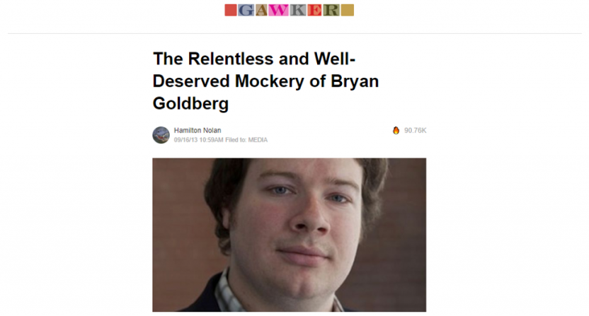 Bryan Goldberg, Gawker's new owner, was a frequent target for the site.