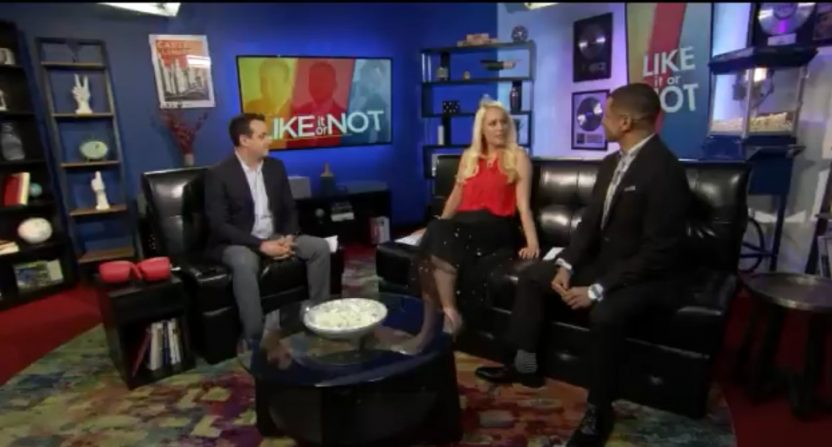 Bram Weinstein, Britt McHenry and Guy Lambert on Like It Or Not.