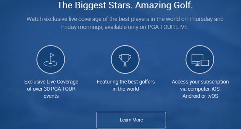 Pga Tour Live Is Moving From Bamtech To Nbc Sports Gold