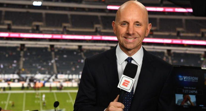 Sean McDonough at ESPN.