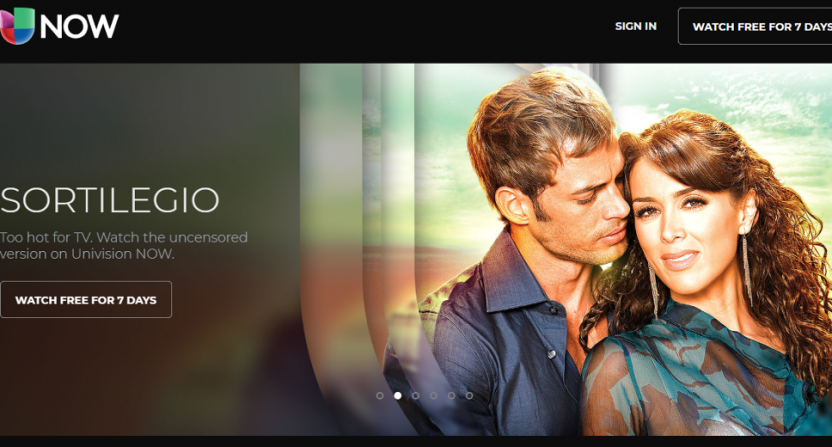 Univision is off Dish and Sling TV, with Univision Now