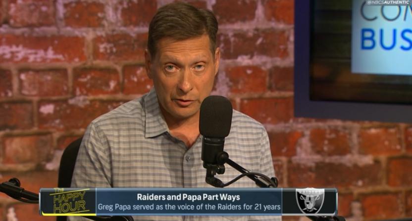 Greg Papa on NBC Sports Bay Area.