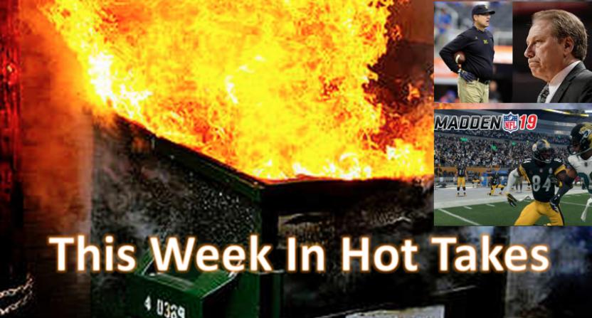 Tom Nichols' esports take topped the hot takes this week.