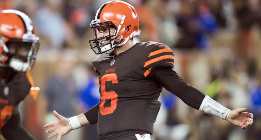 Baker Mayfield led the Browns to a win against the Jets.