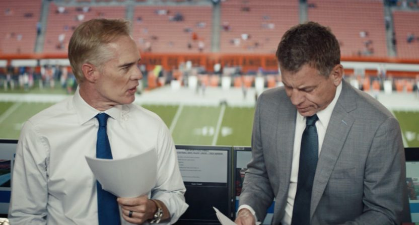 A new Thursday Night Football ad with Joe Buck and Troy Aikman.