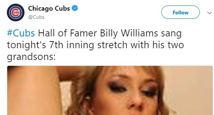 This tweet went very wrong for the Cubs.