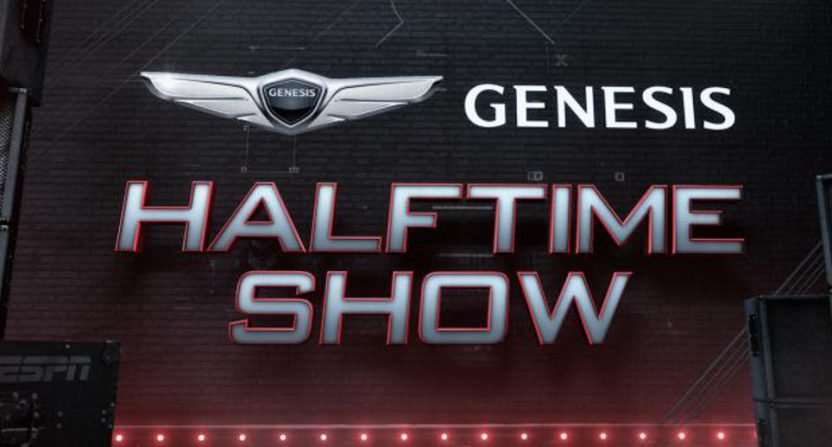 The MNF Genesis halftime show.