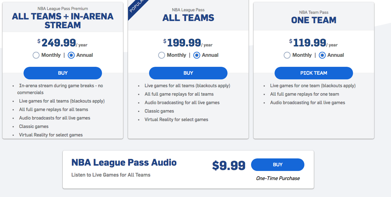 NFL Sunday Ticket is absurdly overpriced, illogically