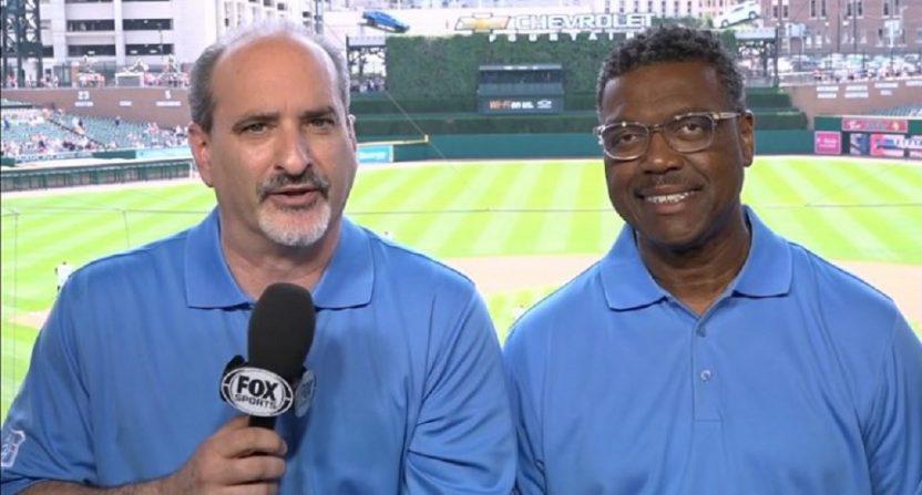 Mario Impemba (L) and Rod Allen (R).