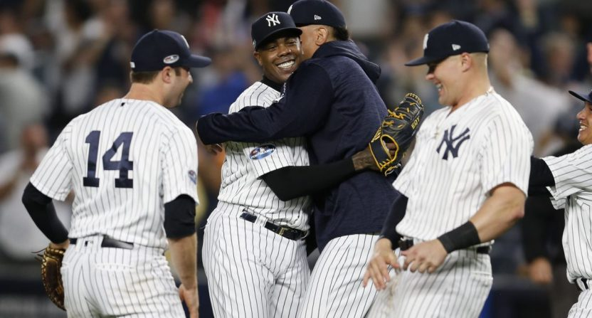 Yankees As Al Wild Card Game Delivers A Ratings Win For Tbs