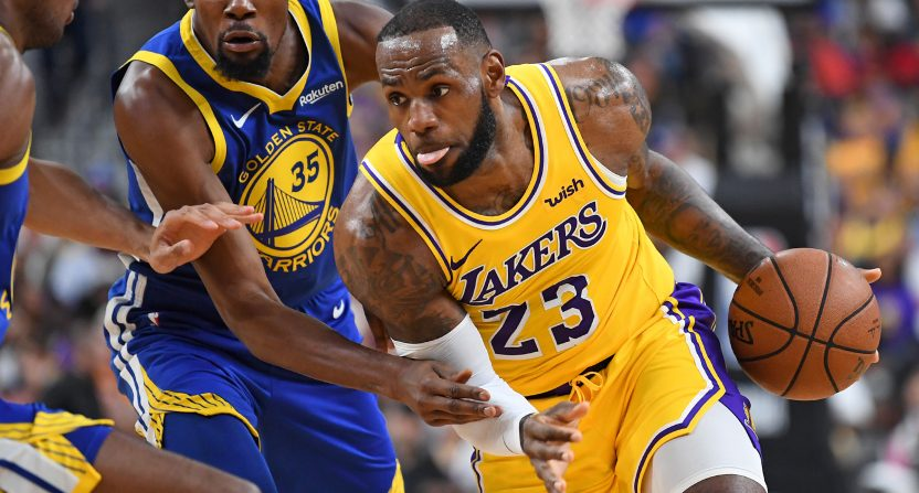 This NBA season has seen more debate about what's next for Kevin Durant and LeBron James than what they can do this year.
