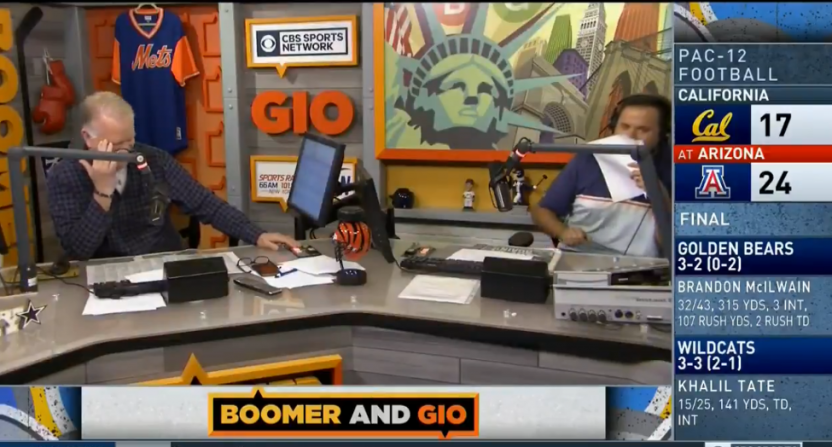 Boomer and Gio mocking Francesa.