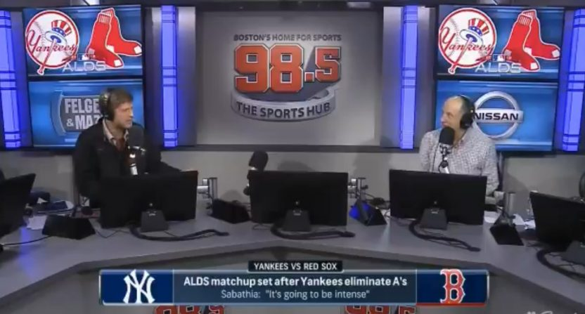 Felger and Mazz dropped hot takes on Yankee fans.