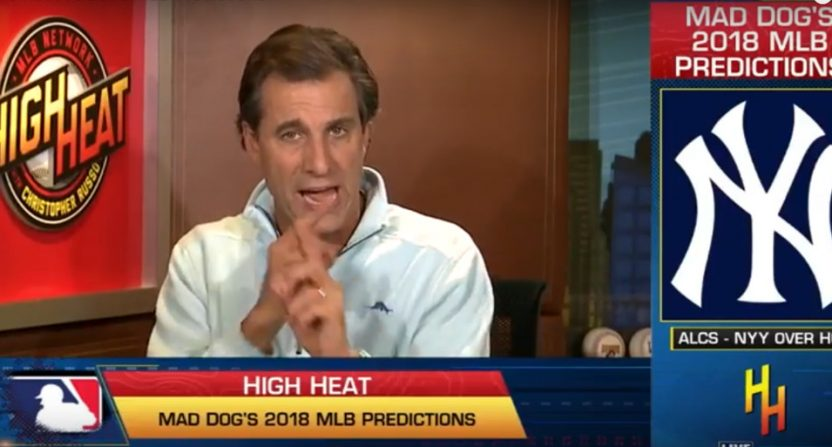 "Chris ""Mad Dog"" Russo on High Heat."