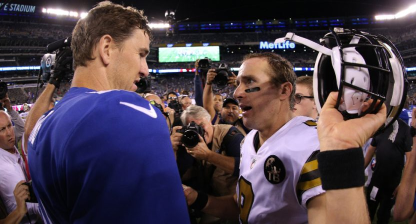 Week 4 NFL ratings saw some gains, including for Giants-Saints.